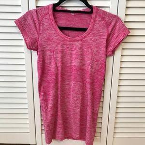 Lululemon Hot Pink Workout Top, 4, EUC